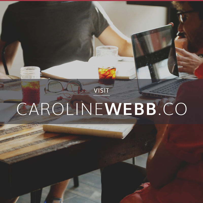 The Good Day Index | Caroline Webb