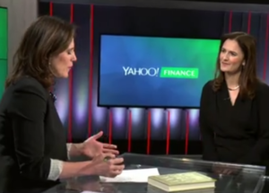 Caroline Webb speaking at Yahoo! Finance
