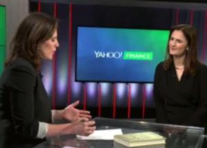 Caroline Webb speaking at Yahoo! Finance